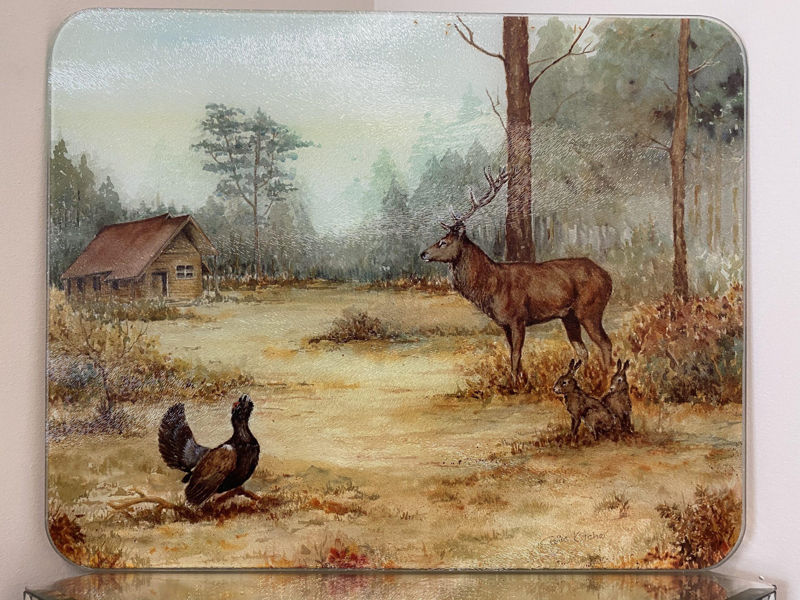 Hjort og tiur